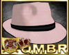 QMBR Fedora Pink & Blk