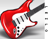 ! L! Lara Red Guitar