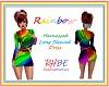 RHBE.L/S.RainbowDress