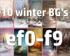 10 Winter BG's