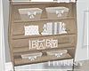 H. Neutral Baby Shelf