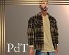 PdT BrownPlaid Shirt&T M