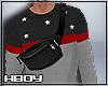 $ waist bag+sweater