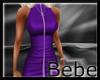Leather Zipper Dress