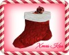 Xmas Red Stocking kiss