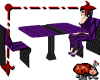 Gothic Violet Club Table