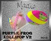 Purple Frog Lolli V2