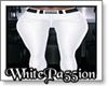 P5* White Leather Pant