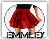 *EL* Red Spring Skirt