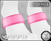 . paw cuffs | pink