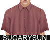 /su/ SATIN SHIRT RED