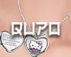 h.k. anim. heart locket