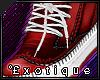 .e`Exo kicks; Red