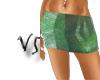 Mini Skirts Verdes