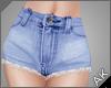 ~AK~ Cutoff Jeans: Blue