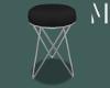 Black closet stool