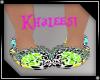 kid cheetah slippers
