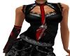 Dark Red Gothic Top {DER