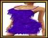 Fringe Purple Dress