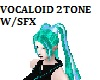 Vocaloid 2 tone animated