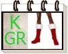 (GR.K) SANTA CLAOUS BOOT