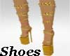 MR Golden Chain Shoes