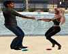 Couples Lets Swing Dance