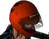 Moto Helmet Damaged