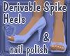 Derivable Spike Heels
