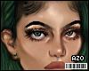 Unisex Eyes |Black/Brown