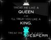 -V- Queen & King