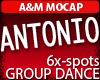ANTONIO: Male GroupDance