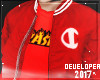 jacket champion red