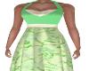 Karawy Dress-Green