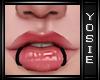 ~Y~Lips Rings Piercings