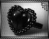 -P- PVC Heart Ring /R