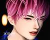 Jun hair . pink
