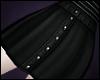 \/ Black Denim Mini