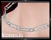 ☠ PaperClip Choker F