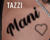 Mani Custom Tattoo