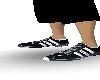 [DM]Black Adidas schuhe