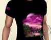 Purple moon T-shirt