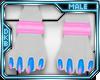[D]Blupi Pink Anklet M
