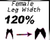 LEG FEMININO 120%
