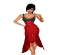 *Red Sparkly Dress*