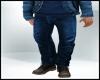 Fall Fashion Blue Jeans