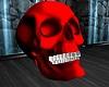 ATS~ Red Skull w Teeth