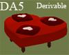 (A) Heart Sofa