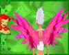 bubblegum pink wings