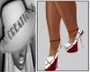iQ Red&White Heels